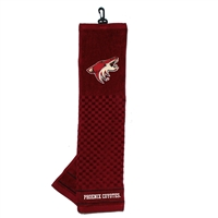 Phoenix Coyotes NHL Embroidered Tri-Fold Towel