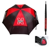 Nebraska Cornhuskers NCAA 62 inch Double Canopy Umbrella