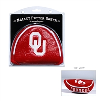 Oklahoma Sooners NCAA Putter Cover - Mallet