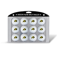 Colorado Golden Buffaloes NCAA Dozen Ball Pack