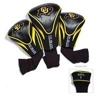 Colorado Golden Buffaloes NCAA 3 Pack Contour Fit Headcover