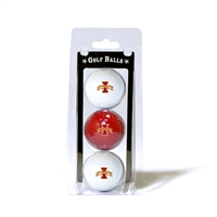 Iowa State Cyclones NCAA 3 Ball Pack