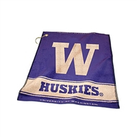 Washington Huskies NCAA Woven Golf Towel