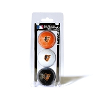 Baltimore Orioles MLB 3 Ball Pack