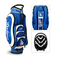 Los Angeles Dodgers MLB Cart Bag - 14 way Medalist