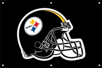 Pittsburgh Steelers NFL 3' x 2' Fan Banner