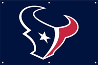 Houston Texans NFL 3' x 2' Fan Banner