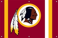 Washington Redskins NFL 3' x 2' Fan Banner