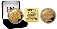 Highland Mint 24KT Gold Super Bowl XLI Flip Coin