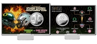 Highland Mint 2015 College Football National Championship Silver Coin Card
