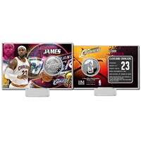 LeBron James Silver Coin Card