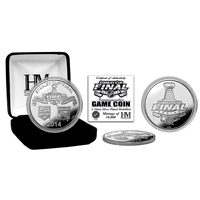 2014 Stanley Cup Final Silver Game Coin