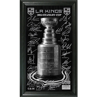 LA Kings 2014 Stanley Cup Final Signature Pano