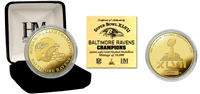 Super Bowl XLVII Champions Gold Coin