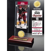 Shane Doan Ticket and Bronze Coin Desktop Acrylic