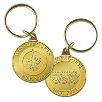Winnipeg Jets NHL Winnipeg Jets Bronze Coin Keychain