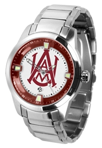 Alabama A&M Bulldogs Titan Watch - Stainless Steel Band