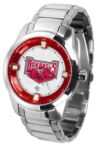 Arkansas Razorbacks Titan Watch - Stainless Steel Band