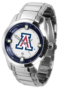 Arizona Wildcats Titan Watch - Stainless Steel Band