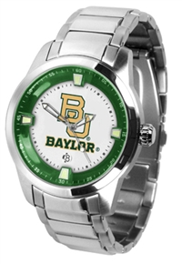 Baylor Bears Titan Watch - Stainless Steel Band