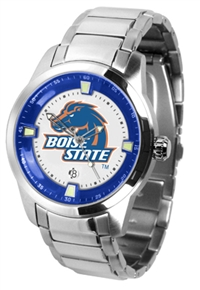 Boise State Broncos Titan Watch - Stainless Steel Band