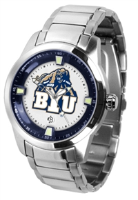 Brigham Young BYU Cougars Titan Watch - Stainless Steel Band