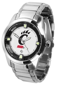 Cincinnati Bearcats Titan Watch - Stainless Steel Band