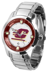 Central Michigan Chippewas Titan Watch - Stainless Steel Band