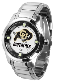 Colorado Buffaloes Titan Watch - Stainless Steel Band