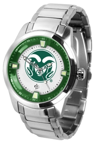 Colorado State Rams Titan Watch - Stainless Steel Band
