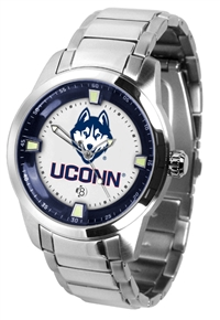 Connecticut Huskies UCONN Titan Watch - Stainless Steel Band