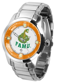Florida A&M Rattlers Titan Watch - Stainless Steel Band