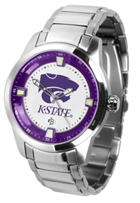 Kansas State Wildcats Titan Watch - Stainless Steel Band
