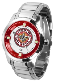 Louisiana Lafayette (ULL) Ragin' Cajuns Titan Watch - Stainless Steel Band