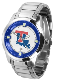 Louisiana Tech Bulldogs Titan Watch - Stainless Steel Band
