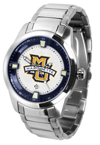 Marquette Golden Eagles Titan Watch - Stainless Steel Band