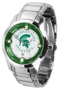 Michigan State Spartans Titan Watch - Stainless Steel Band