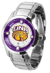 North Alabama Lions UNA Titan Watch - Stainless Steel Band