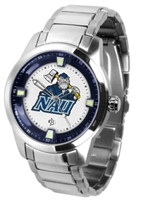 Northern Arizona Lumberjacks Titan Watch - Stainless Steel Band