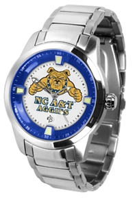 North Carolina A&T Aggies Titan Watch - Stainless Steel Band