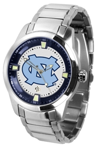 North Carolina Tarheels Titan Watch - Stainless Steel Band