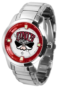 Nevada Las Vegas UNLV Rebels Titan Watch - Stainless Steel Band