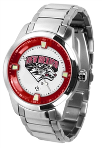 New Mexico Lobos Titan Watch - Stainless Steel Band