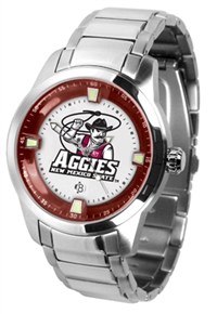 New Mexico State Aggies Titan Watch - Stainless Steel Band