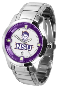 Northwestern State University Demons Titan Watch - Stainless Steel Band