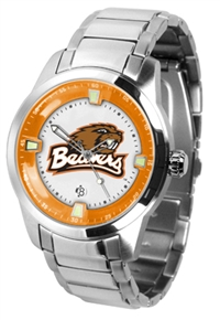 Oregon State Beavers Titan Watch - Stainless Steel Band