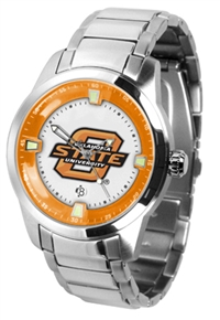 Oklahoma State Cowboys Titan Watch - Stainless Steel Band