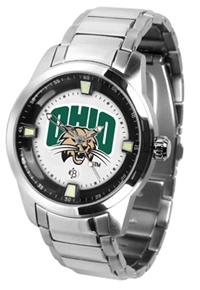 Ohio Bobcats Titan Watch - Stainless Steel Band