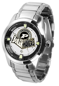 Purdue Boilermakers Titan Watch - Stainless Steel Band
