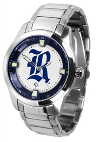 Rice University Owls Titan Watch - Stainless Steel Band